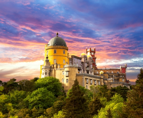 ♥pena Palace In Sintra♥ Desktop Background